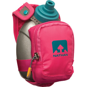 Nathan QuickShot Plus drinksysteem 300ml grijs/roze